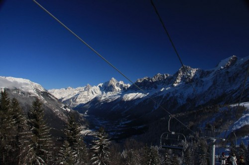 Aiguillette des Houches and the Chamonix valley
