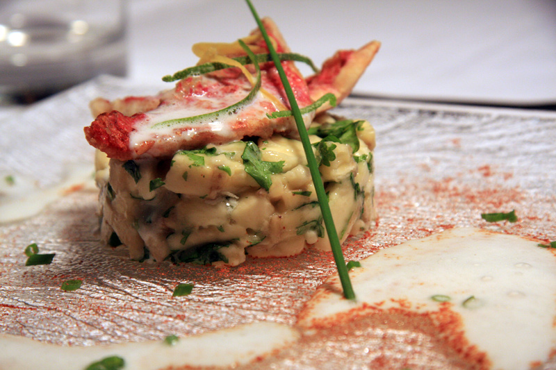 Chalet food and wine - Luxury