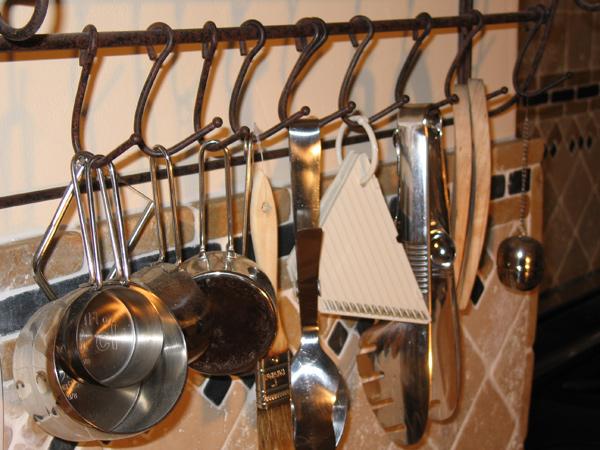 Wide range of kitchen utensils