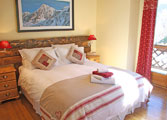 Blue bedroom - has ensuite facilities