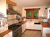 Well-equipped large kitchen for self-catered groups