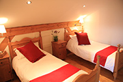 Pine room - twin with ensuite facilities