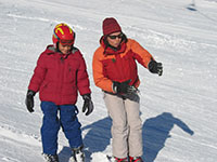 Private ski lessons with Anne Bosvieux